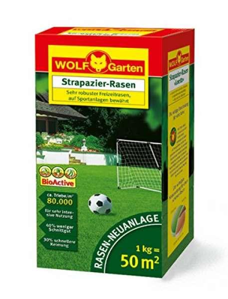 """Wolf Garten LJ 50 Strapazier-Rasen """"Profi"""" 1kg"""