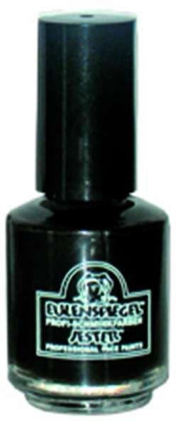 Zahnlack schwarz 7ml in Pinselflasche