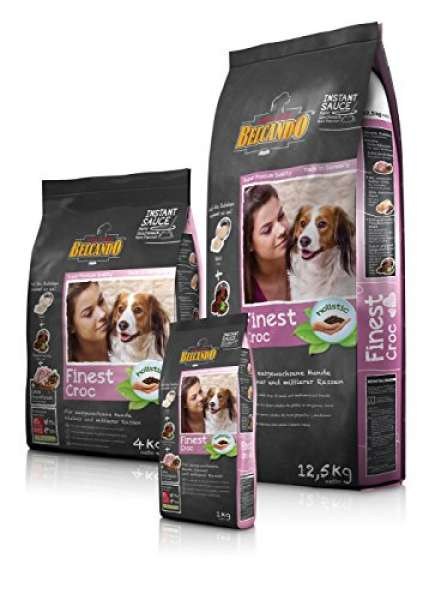 BELCANDO Trockenfutter ADULT FINEST CROC Ente kleine und mittlere Hunde 1,0 kg