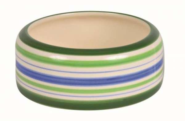 Trixie Keramiknapf blau/grün 200 ml/ø 11 cm