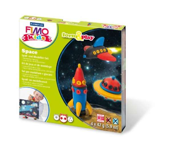 Fimo kids Form&Play Space 4x42g