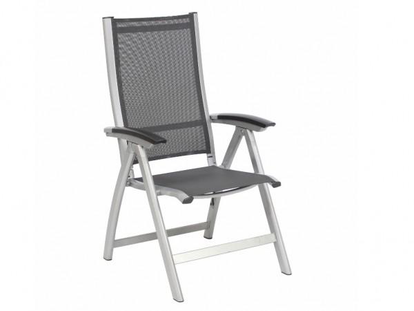 Sessel Avance hoch silber/anthr klappbar