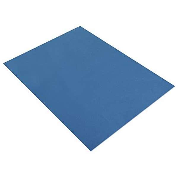 Moosgummi Platte 2mm 30x40cm blau dunkel