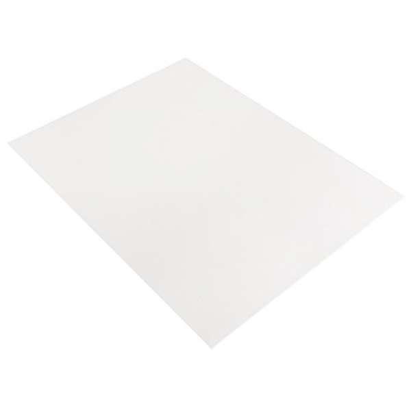 Moosgummi Platte 2mm 20x30cm weiss