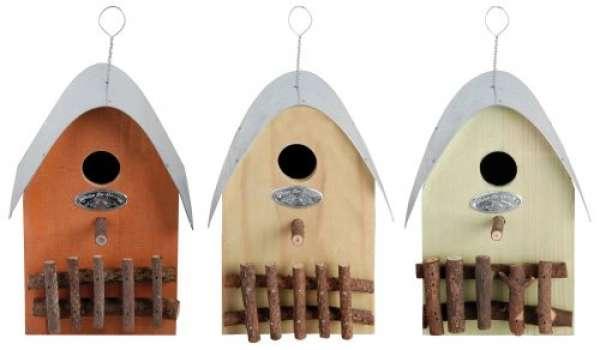 Esschert Design Hängendes Vogelhaus