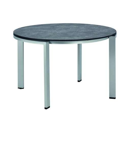 Tisch Dinig HPL 150cm rund Betonoptik