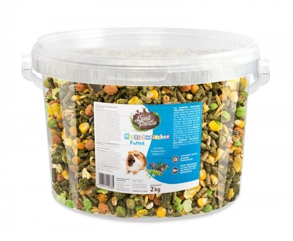 LandPartie 2kg Meerschweinchen Eimer 4,2l