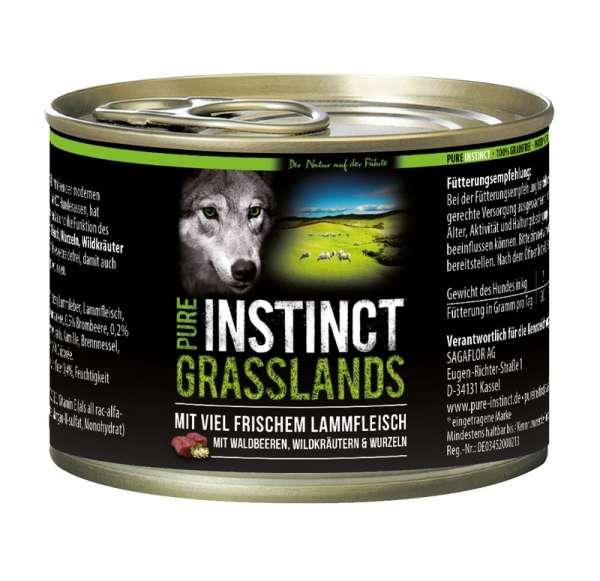PURE INSTINCT GRASSLANDS - Lamm 200g