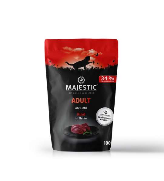MAJESTIC Rind Pouch 100g
