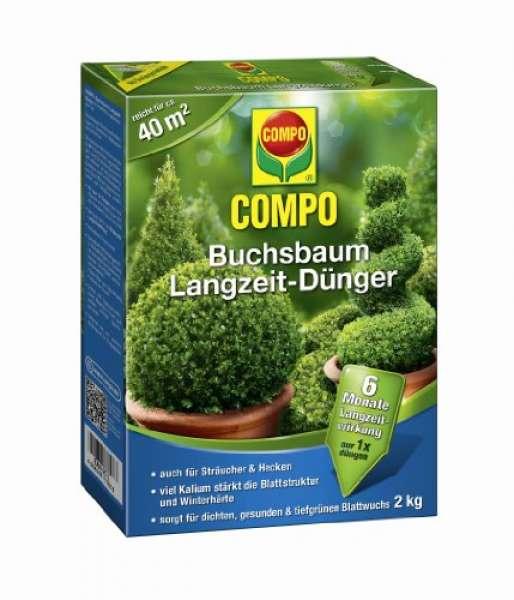 COMPO Buchsbaum Langzeit Dünger 2 kg
