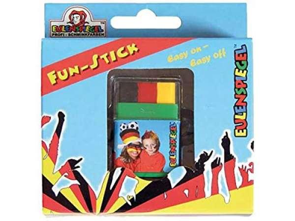 Fun-Stick Jumbo (Schwarz/Rot/Gelb)