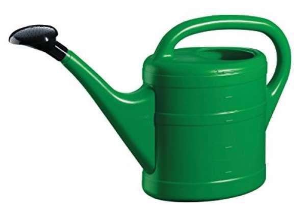 Kunststoff Gießkanne grün