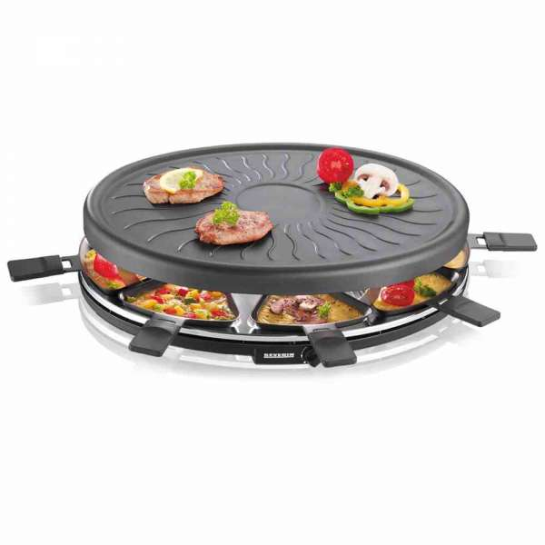 Raclette-Grill mit Regler