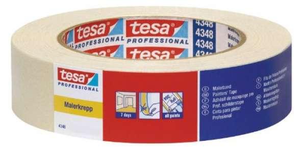 Tesa 04348-00003-03 tesakrepp 4348 Malerband 50 m x 25 mm
