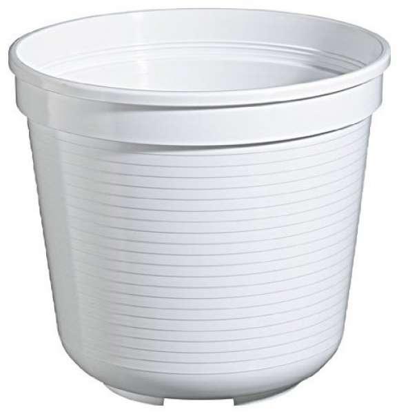 Geli Blumentopf 24 cm, weiß, 24 x 24 x 20.5 cm, 80602410
