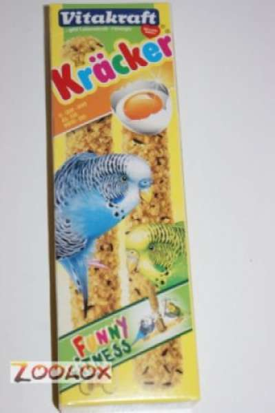 Vitakraft Kräcker Original Ei & Grassamen 2 Stück