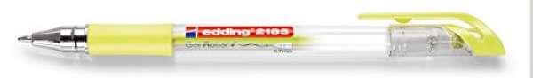 e-2185 Gel Roller pastellgelb