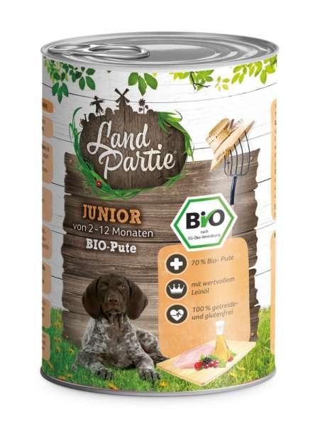 LandPartie Bio JUNIOR - Pute - 400g