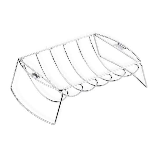 Weber Spare-Rib-Halter und Bratenkorb