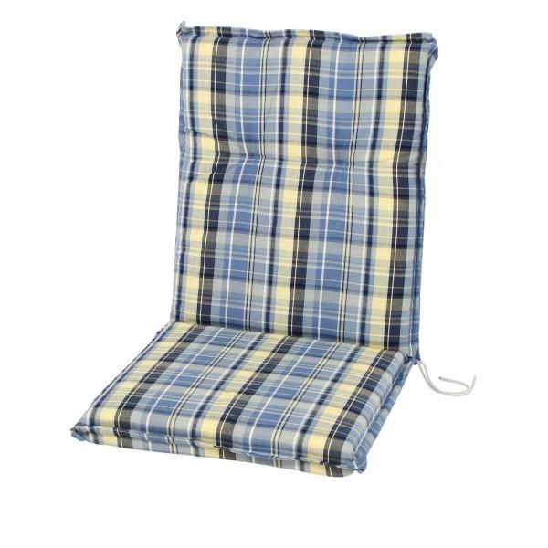 Sesselauflage Classic Karo Streifen