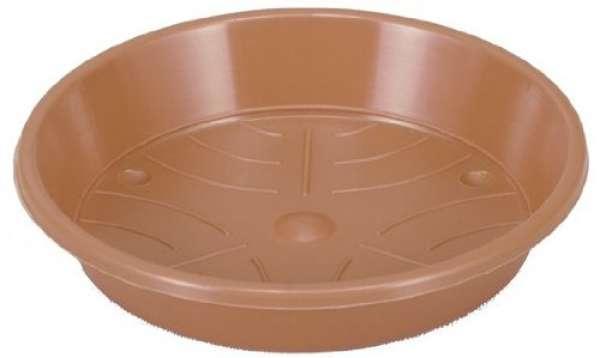 Untersetzer Kunststoff Ø 10 H 1,5 cm terracotta
