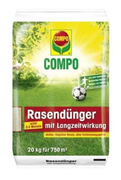 Compo Rasendünger mit Langzeitwirkung 20kg