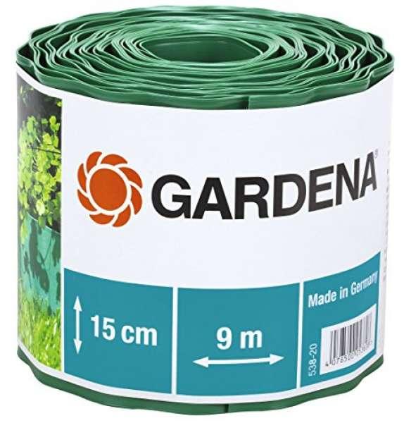 Gardena Beeteinfassung grün 15cm 9m