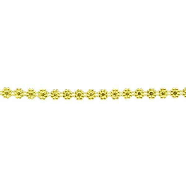 Wachs Borte 24 x 1cm gold
