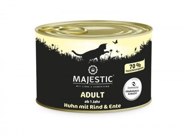 MAJESTIC Rind mit Huhn & Ente 200g