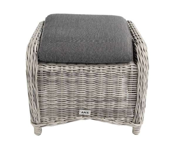 Hocker Broadway 55x50 grey shell