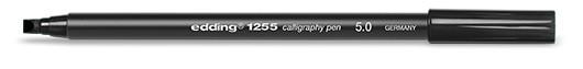 edding 1255 calligraphy pen 5.0 - 001 Schwarz