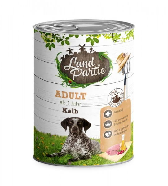 LandPartie ADULT - Kalb - 800g