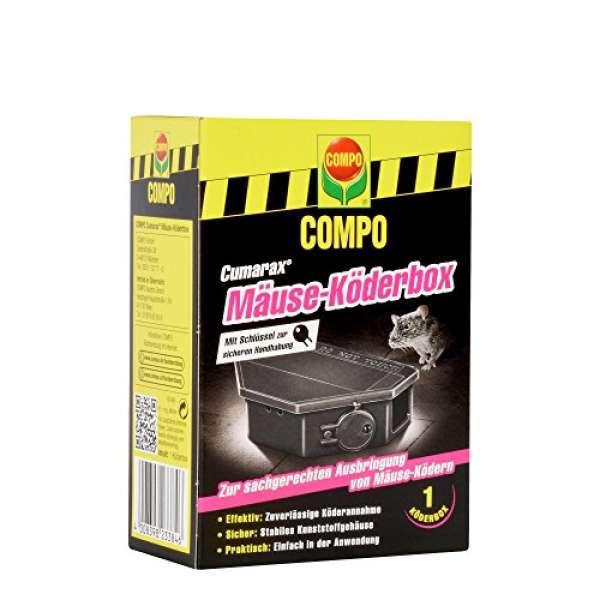 COMPO Mäuse-Köderbox Cumarax