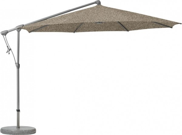 Schirm Sunwing r300cm taupe 461