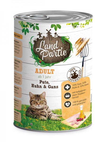 LandPartie ADULT - Pute,Huhn&Gans - 400g