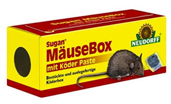 Sugan Mäuse Box +Köder Paste 713 #
