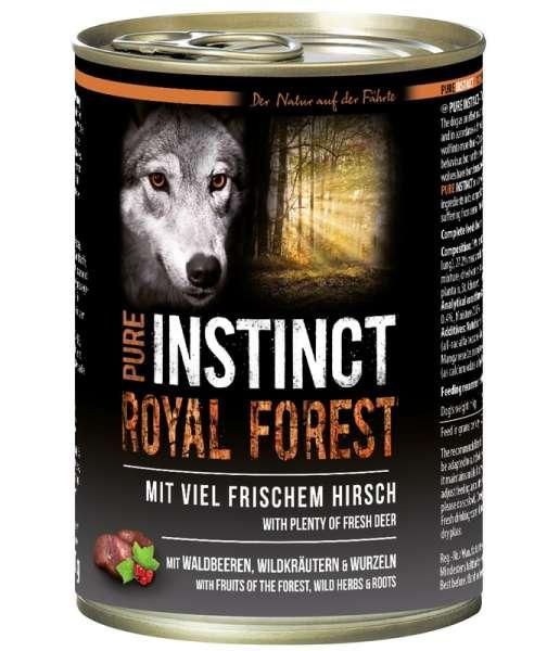 PURE INSTINCT 400g Hirsch