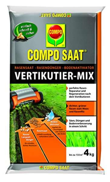 COMPO SAAT Vertikutier-Mix 4 kg für bis zu 133m²