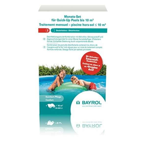Bayrol Monats-Set Quick-Up-Pool bis 10m3 600g