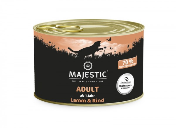 MAJESTIC Rind & Lamm 200g