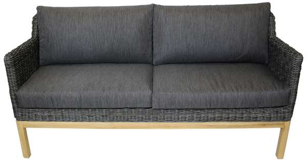 Sofa Darwin 3er Dining light charcoal